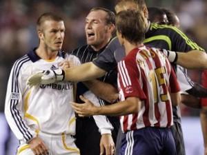 Beckham n'a pas que fait la loi sur le terrain...