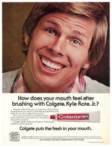 Les publicitaires s'arrachent Kyle Rote