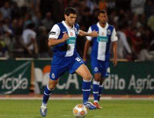 Diego Valeri, lors de son prêt à Porto en 2009