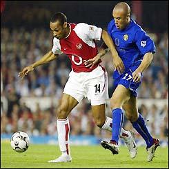 Henry et Silvestre se sont aussi plusieurs fois croisés sur les terrains de Premier League