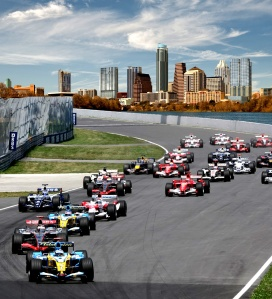 One of the big events which take lace in Austin: F1 USGP - Circuit of the Americas. The Circuit of the Americas chairman is one of the owners of the Aztex: Bobby Epstein